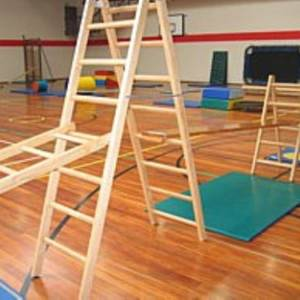 Wooden Kinder Gym Equipment